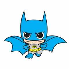 Drawing Superhero Chibi Batman Running Cut Outs - Japanese Toy Chibi Justice League Cute Batman, Im Batman, Batman Comics, Superman, Dc Comics, Batman Robin, Funny Batman, Batman Logo, Baby Superhero