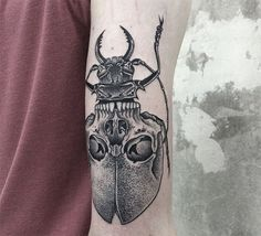 Symmetrical Tattoos By Valentin Hirsch Find Perfect Balance Between Nature And…