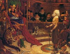 Wicked King Noah by Arnold Friberg