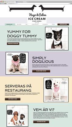 Hugo and Celine | Ice cream for Dogs