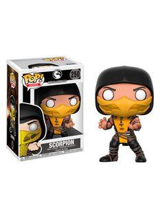 Scorpion - Mortal Kombat X *oficiale* pentru fani Mortal Kombat Scorpion, Pop Vinyl Figures, Funko Pop Figures, Mortal Kombat Figures, Captain America Suit, Funk Pop, Mortal Combat, Pop Games, Pop Dolls