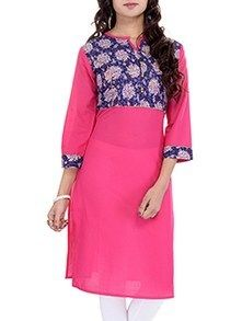 Check out what I found on the LimeRoad Shopping App! You'll love the pink solid cotton kurta. See it here http://www.limeroad.com/products/9985125?utm_source=7168568ab3&utm_medium=android
