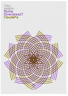 Claude Món dj poster