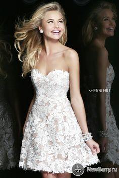 Reception Dress - Sherri Hill SS2014