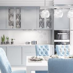 20 Inspiring Kitchen Cabinet Colors and Ideas That Will Blow You Away - shoproom. 20 Inspiring Kitchen Cabinet Colors and Ideas That Will Blow You Away – shoproomideas Beige Kitchen Cabinets, Unfinished Kitchen Cabinets, Kitchen Cabinet Colors, Oak Cabinets, Kitchen Colors, Vintage Kitchen Decor, Home Decor Kitchen, Kitchen Furniture, Kitchen Interior