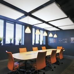 ​SoundScapes ceiling canopies and ceiling clouds from Armstrong Ceiling Solutions enhance acoustics and define spaces. Studio Arthur Casas, Ceiling Canopy, Marquise, Suites, Commercial, Ceilings, Wall, Furniture, Home Decor