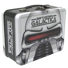 FabGearUSA - Battlestar Galactica Cylon Tin Tote, $19.95 (http://www.fabgearusa.com/battlestar-galactica-cylon-tin-tote/)