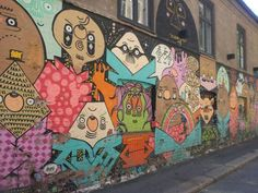 NORWAY: Grünerløkka, Oslo: Neighbourhood with street art, boutiques and restaurants