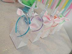 Unicorn head bands para las niñas