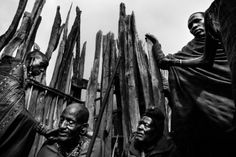 Meeri Koutaniem. Blood, Fear and Ritual: Witness to Female Circumcision in Kenya. The father of the girls, along with his four wives, will be marked with okra during the ritual
