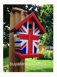 Union Jack by buyabirdhouse on Etsy