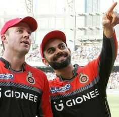 The two best players in present cricket and very fortunate to have them in RCB India Cricket Team, World Cricket, Cricket Sport, T20 Cricket, Ab De Villiers Photo, Shane Watson, Virat Kohli And Anushka, Virat Kohli Wallpapers, Cricket Wallpapers