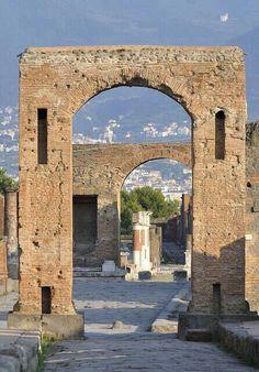 Ruinas de Pmpeya Italia