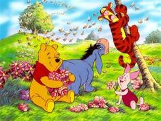Pooh with his Friends