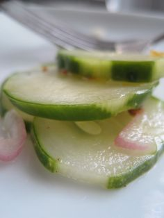 Spicy Refrigerator Pickles
