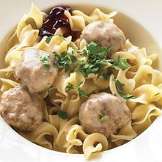 Swedish Meatballs; Quick Sunday Suppers - Dinner Recipes for Sunday - Delish