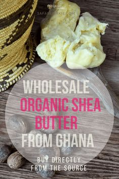 Wholesale Organic Shea Butter from Ghana. Buy Grade A, unrefined, shea butter with all certifications straight from Ghanian cooperative. Shea Butter Face, Massage Treatment, Unrefined Shea Butter, Bath Melts, Homemade Soap Recipes, Castile Soap, Glycerin Soap, Lotion Bars, Goat Milk Soap