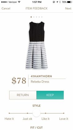Rebeka Dress 41Hawthorn Love the two toned style
