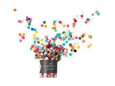 mini confetti, 17 colours of FUN #poppiesforgrace