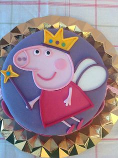 Puzzle technique tutorial (Step by Step). Third Birthday, 3rd Birthday Parties, Birthday Ideas, Tortas Peppa Pig, Pippa Pig, Peppa Pig Birthday Cake, Pig Party, Cake Tutorial, Party Cakes