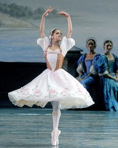 Misty Copeland in La Bayadère. (photo by Marty Sohl)