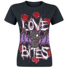 Love Bite (Girls shirt) by Cupcake Cult