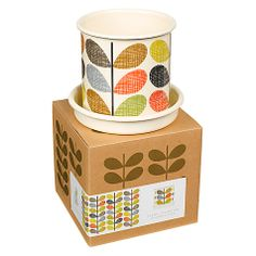 Orla Kiely Scribble Stem Plant Pot