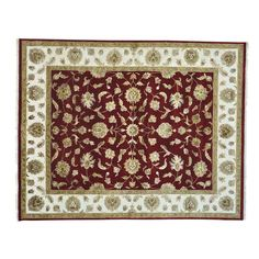 cool Burgundy Rajasthan Wool and Silk Hand Knotted Oriental Rug (8' x 10'2) Check more at http://yorugs.com/product/burgundy-rajasthan-wool-and-silk-hand-knotted-oriental-rug-8-x-102/