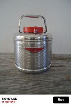 Vintage 1950s Water Cooler Picnic Jug