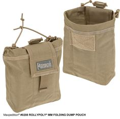 Rollypoly® MM Folding Dump Pouch (Closeout - FINAL SALE)