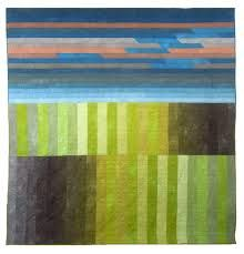 Image result for abstract landscape quilts