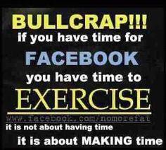 Time for Facebook, Pinterest. Tumbler,Tweeter.....
