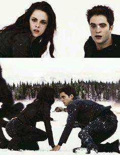 """""""we'll fight together if we musr"""" oh I just love The Twilight Saga Twilight Scenes, Twilight Quotes, Twilight Saga Series, Twilight Pictures, Twilight Breaking Dawn, Breaking Dawn Part 2, Twilight New Moon, Twilight Movie, Robert Pattinson Twilight"""
