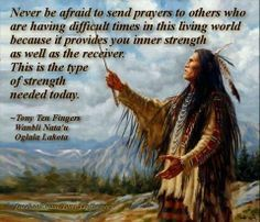 Native Ways. Tony Ten Fingers. Oglala Lakota. Reflection in the One Who Prays.