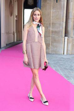 Olivia Palermo Schiaparelli look