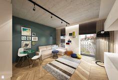pokój dzienny - zdjęcie od art inside - studio projektowania wnętrz i ogrodów - Salon - Styl Nowoczesny - art inside - studio projektowania wnętrz i ogrodów