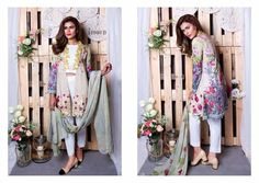 Rang Rasiya Lawn 2017 Collection For Stylish Girls, ur beautiful and elegant Digital Lawn Collection is a perfect combination of modernism and comfort. Rang Rasiya, Ur Beautiful, Pakistan Fashion, Stylish Girl, Lawn, Kimono Top, Elegant, Girls, Clothing