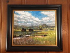 Framing Tips and techniques on framing and hanging for the plein air #pleinair artist. San Diego artist, Ronald Lee Oliver.