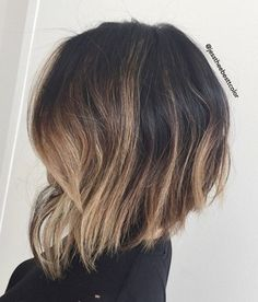 Bob Haircut with Balayage Ombre In 2020 36 Hottest Bob Hairstyles 2020 Amazing Bob Haircuts for Balayage Straight Hair, Balayage Bob, Hair Color Balayage, Ombre Hair, Bayalage, Angled Bob Hairstyles, Inverted Bob Hairstyles, Stacked Haircuts, Curled Hairstyles