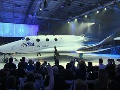 Virgin Galactic Rolls Out Space Tourism Rocket - YouTube