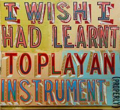 This is also by Bob and Roberta Smith and has a beautiful array of colours to convey a message i'm sure most people have thought once in their lives.