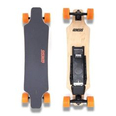 KooWheel Longboard Electric Skateboard Boosted With Dual Brushless Motors and Wireless Remote Control - PLUS 286 LB Weight Capacity and 27 MPH Max Speed - Orange Wheels Bamboo Decking, Orange Wheels, Skate Store, Electric Skateboard, Look Good Feel Good, Roller Skating, Best Face Products, Skateboards, Like4like