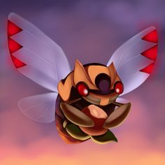 Ninjask - If Ninjask is not trained properly, it will refuse to obey the Trainer and cry loudly continuously. Because of this quality, this Pokémon is said to be one that puts the Trainer's abilities to the test.