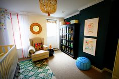 Colorful and Eclectic Gender Neutral Nursery - Project Nursery
