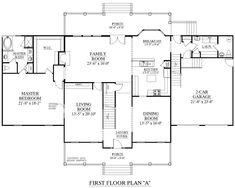House Plan 3241 A Brookfield A Second Floor Plan
