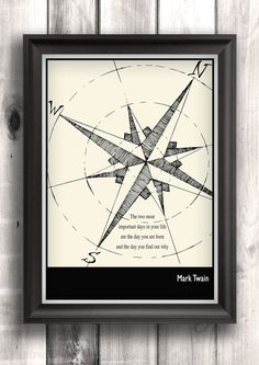 Affiches typographiques imprimé inspiration décoration par Lit101, $16.00