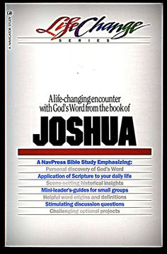 Joshua (LifeChange) Paperback – by The Navigators