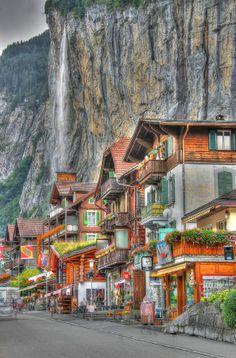 Lauterbrunnen, Wengen, Switzerland by Kevin Shingleton, via 500px