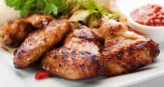 Chicken with Wild West Sauce: http://gustotv.com/recipes/lunch/chicken-wild-west-sauce/