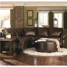 Insert the leather for my other couch and I love the design, especially with the stone and dark hard woods